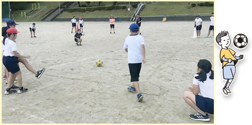 ジュニアきくスポ-サッカー